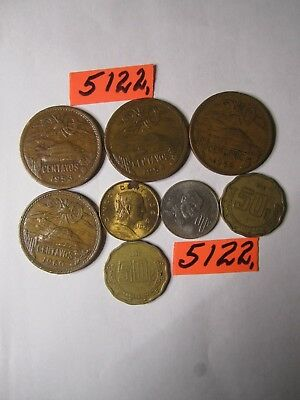 8  x  coins from    Mexico    32      gms      Mar5122