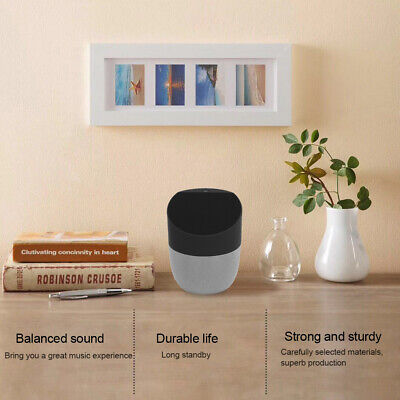 2 in 1 Bluetooth Speaker + Qi Wireless Charger Charging Hands-Free Talking WB
