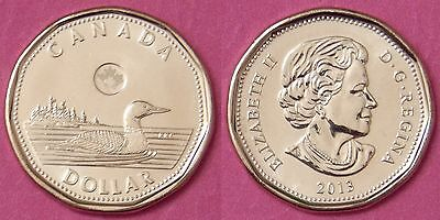 Brilliant Uncirculated 2013 Canada 1 Dollar From Mint's Roll