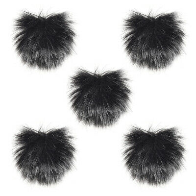 Furry Outdoor Microphone Windscreen Muff Mini Lapel Lavalier Microphone H0X8