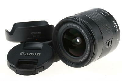 CANON EF-M 11-22mm f/4,0-5,6 IS STM - SNr: 070205000513