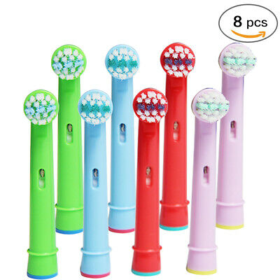 Tooth Braun Health Kids Oral Electric brush 8x Stage Pro B for Replacement Heads