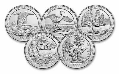 **America The Beautiful National Parks Quarters Year Sets 2010 - 2019**