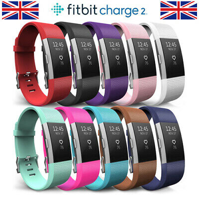 For Fitbit Charge 2 Wrist Strap Soft Silicone Replacement Accessory Watch Band