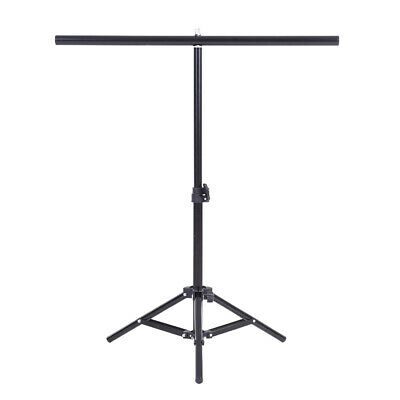 Photography Adjustable Background Support Stand Photo Backdrop Crossbar Kit R1D4