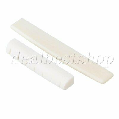 Bone Nut and Saddle for 7 String Guitars Classical Acoustic Guitar