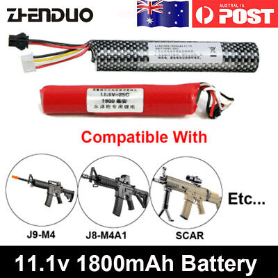 Batteries Compatible With Jinming ACR M4A1 SCAR and Lehui Vector V2 Toy Gun AU