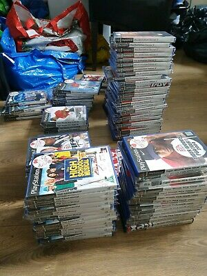 Large Ps2 / Playstation 2 Bundle / Joblot Of 111 Games