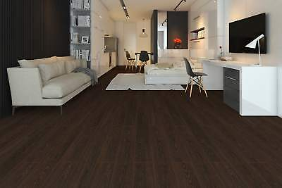 Dark Wenge Laminate Flooring 8mm By 195mm By 1380mm