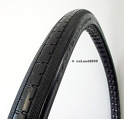Pair of Pr1mo Wheelchair Tyre Solid Polyurethane Black 24 x 1-3/8