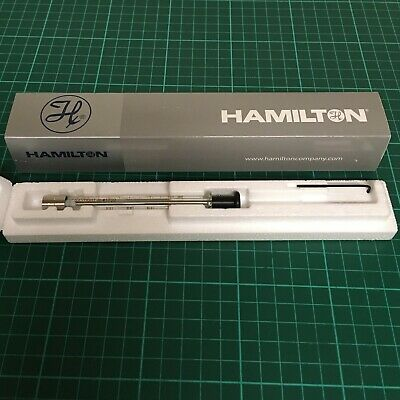 Hamilton Gas Tight Syringe 500ul 1750 TLL-XL STOP brand new and boxed