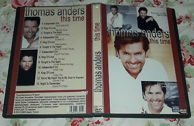 Thomas Anders - This time DVD SPECIAL FAN EDITION, Modern Talking,Dieter Bohlen
