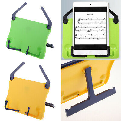 Music Note Stand Sheet Music Holder Book Reading Rack for Kids Students