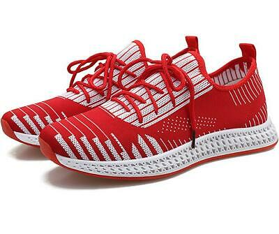 Fashion Men's Flying weaving Athletic Sneakers Sports Breathable Running Shoes