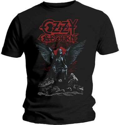 Ozzy Osbourne 'Angel Wings' T-Shirt - NEW & OFFICIAL
