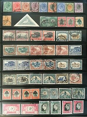 Large South Africa Collection Of Older Stamps See All Pics