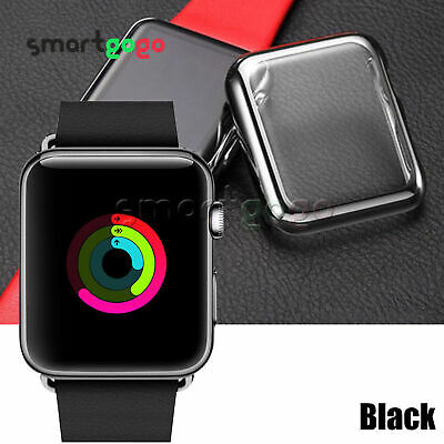 Full Cover Case For Apple Watch Series 3/4 Built In iWatch Screen Protector BSG