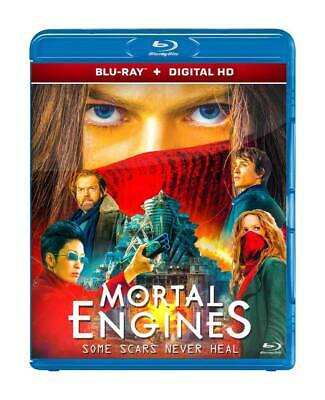 Mortal Engines 2018 ( Blu-Ray 2D + Digital Hd ) Region Free