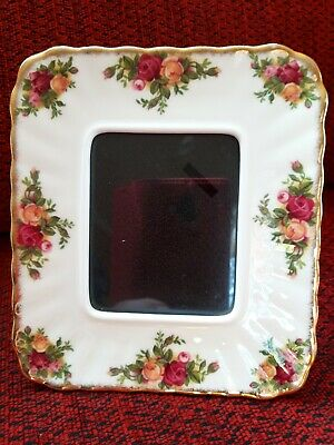 ROYAL ALBERT OLD COUNTRY ROSES PHOTO FRAME 15x13cm
