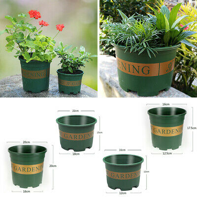 Potted Flower Pot Plant Home Garden Balcony Round Bowl Green Fashionable New