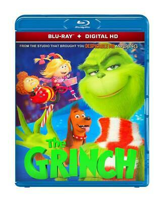 The Grinch 2018 ( Blu-Ray 2D + Digital Hd ) Region Free
