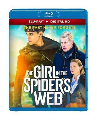 The Girl In The Spider's Web 2018 ( Blu-Ray 2D + Digital Hd ) Region Free
