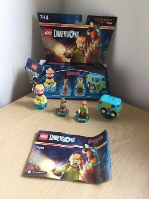 Lego Dimensions Scooby Doo Team Pack 71206 with box and instructions