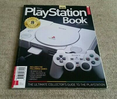 The Playstation Book Bookazine - By Retro Gamer - 159 Pages Collectors Guide