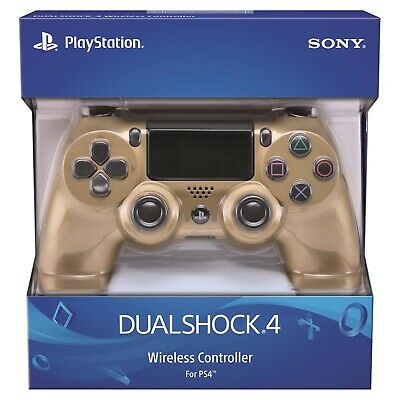 Controller Ps4 Wireless Sony Playstation Dualshock 4 Nuovo Gold