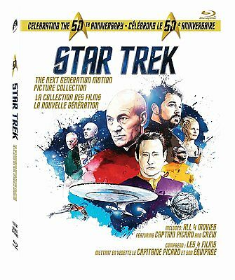Star Trek: The Next Generation - Motion Picture Collection (Blu-ray Disc, 2016,