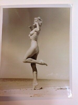 Photograph By Bunny Yeager Original Pin Up Photo Bettie Page Photographer 8x10