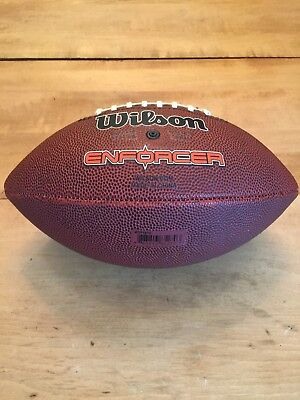 62bced49911 Wilson NFL Enforcer Football Junior Size Tackified Composite WTF1679 NICE