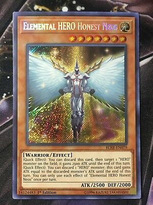 YuGiOh!   Elemental HERO Honest Neos - BLRR-EN079 - Secret Rare 1st Edition M/NM