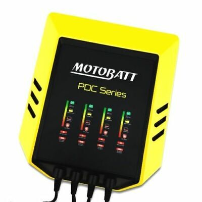 Motobatt PDC 4 x 2A Battery Charger World Quad Bank 4 Amp 9 PDC Series OFFER