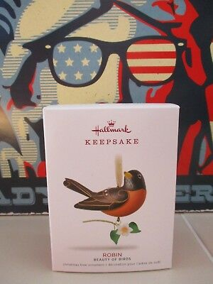Hallmark Christmas Keepsake Ornament Robin Beauty of Birds Series # 14 NIB