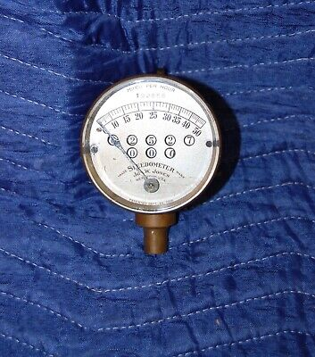 1908-1912 Jones Brass Speedometer Antique Car Motorcycle Model T Ford Accessory
