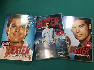 Dexter The Second Season (DVD, 2008)