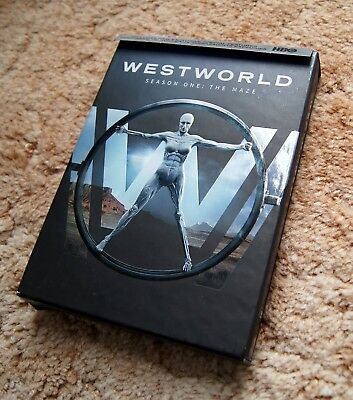 Westworld: The Complete First Season (DVD, 2017, 3-Disc Set, Canadian)