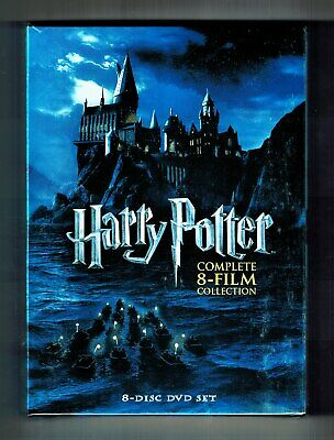 Harry Potter Complete 8-Film Collection (DVD, 2011, 8-Disc Set) Brand New