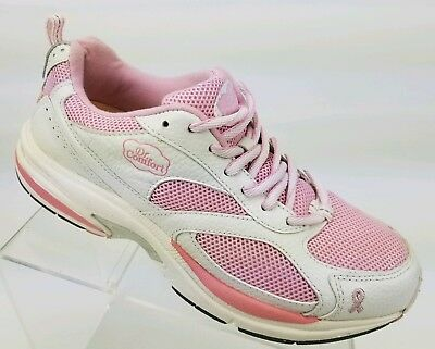d05040437f4 DR COMFORT Victory Plus Women s Walking Sneakers Breast Cancer Pink Shoes  Sz 9.5