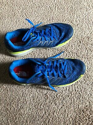 752f31f15af1 The North Face Mens Size 8.5 Ultra Endurance Trail Running Sneaker Cosmic  Blue