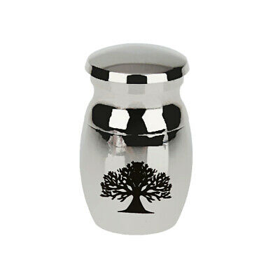 Small Urn For Ashes Cremains Pet Funeral Cremation Memorial Stainless Steel