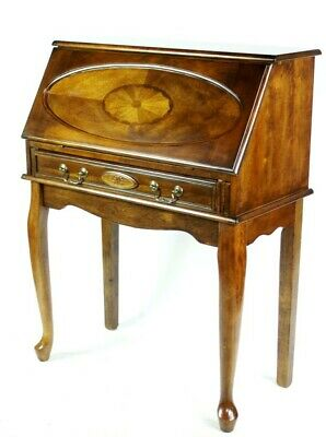 Reproduction Federal Style Cherry Secretary Desk by Ashley [PL4994]
