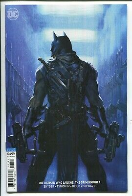 The Batman Who Laughs:the Grim Knight #1 Gabriele Dell'otto Virgin Variant Cover