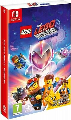 The LEGO Movie 2 Videogame Limited Edition incl Lego Minifiguren Nintendo Switch