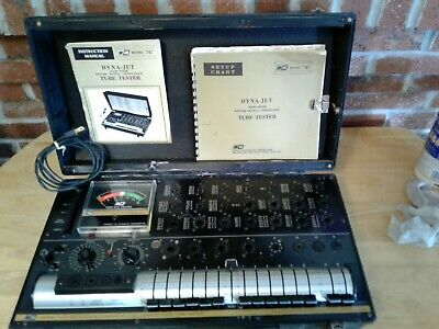 B & K Solid State Dynamic Mutual Conductance Tube Tester Dyna-Jet 747B w/ Manual