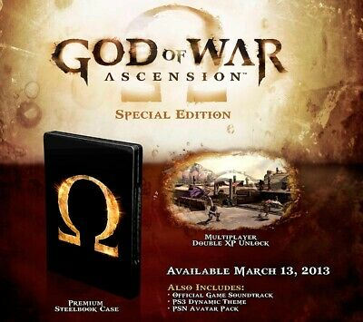 Juego Ps3 God Of War Ascension Special Edition Ps3 4532902