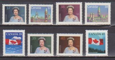1987-1992 Canada SC# 1162-1169 - Domestic First Class Rate Lot# 186 M-NH