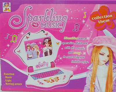 Sparkling Children Educational Learning Music Game Toy Laptop Computer Kids Gift