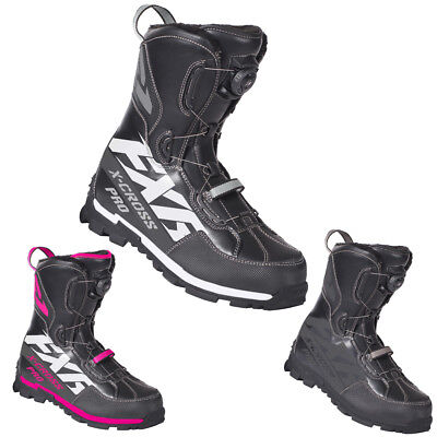FXR Snowmobile High-Performance Insulated X-Cross Pro BOA Boot Lace System